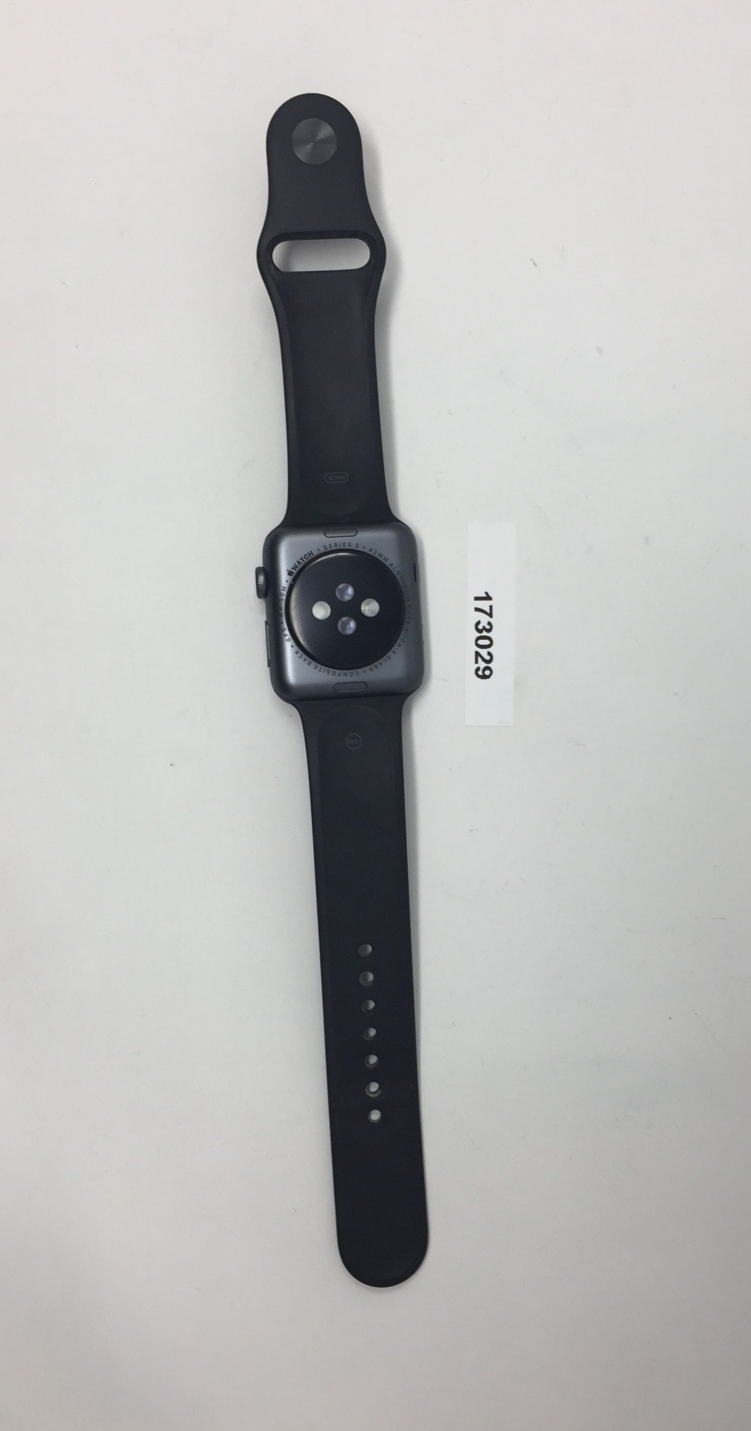 Watch Series 3 (42mm), SPACE GRAY, imagen 4