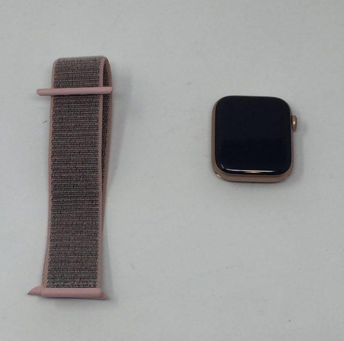 Watch Series 4 Aluminum (44mm), Gold, imagen 1