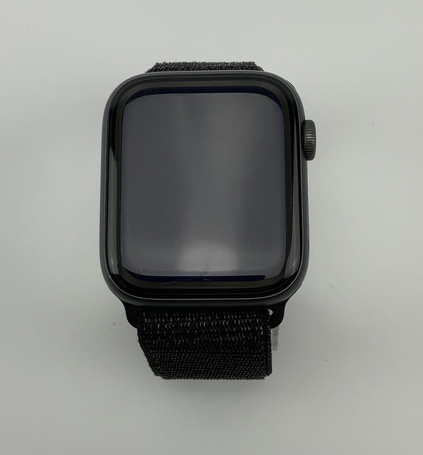 Watch Series 4 Aluminum Cellular (44mm), Space Gray, Black Sport Loop, imagen 1