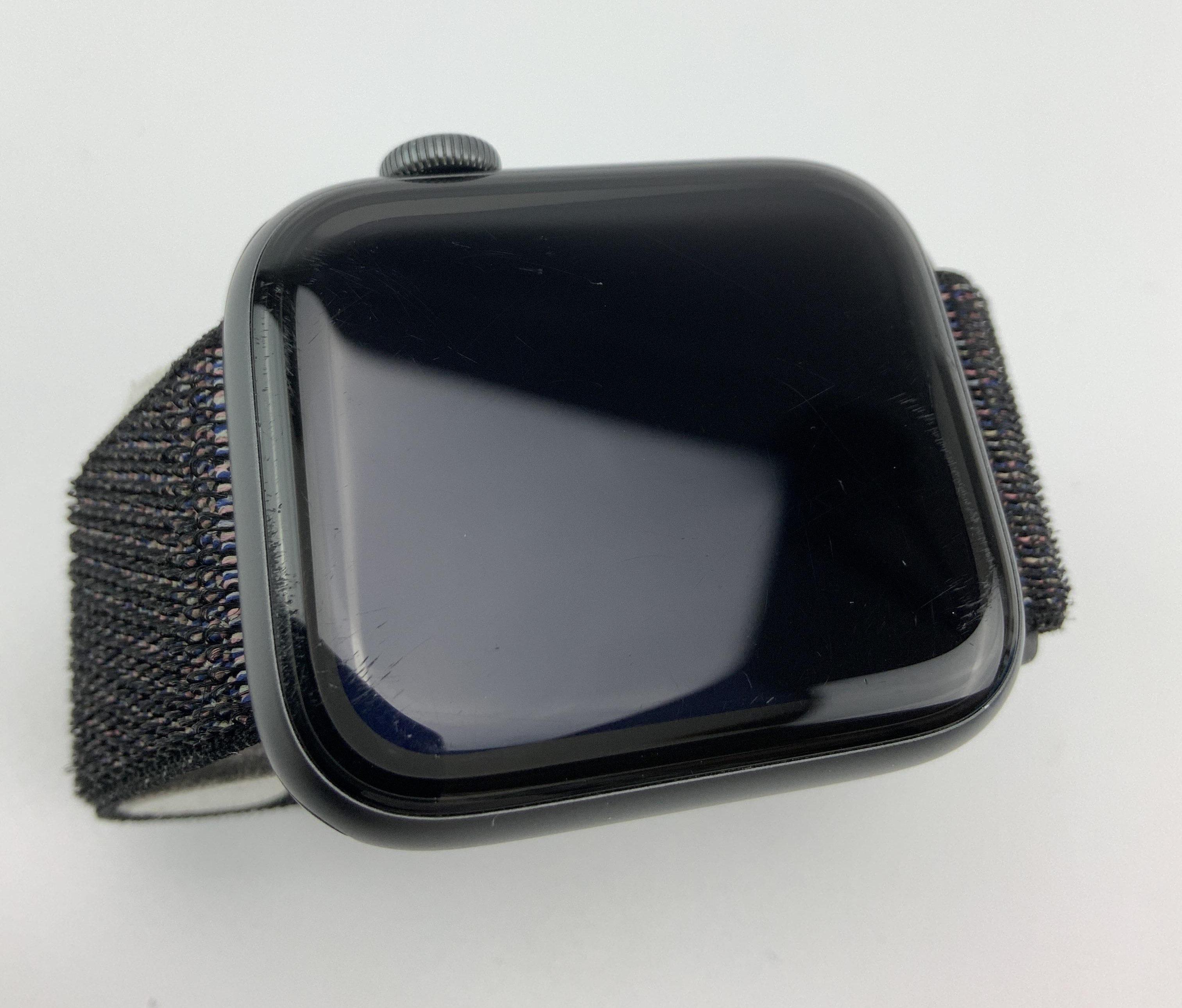 Watch Series 4 Aluminum Cellular (44mm), Space Gray, Black Sport Loop, imagen 3