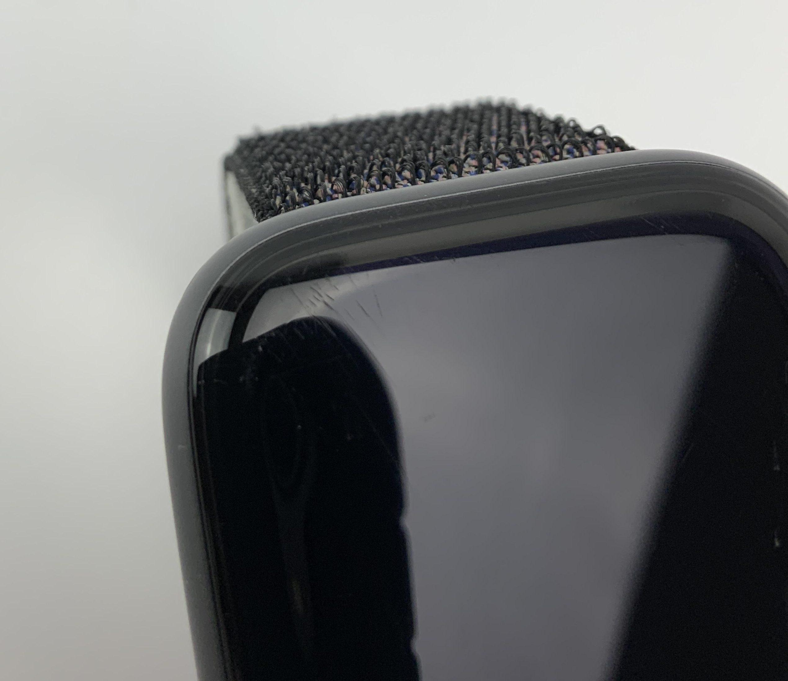Watch Series 4 Aluminum Cellular (44mm), Space Gray, Black Sport Loop, imagen 4