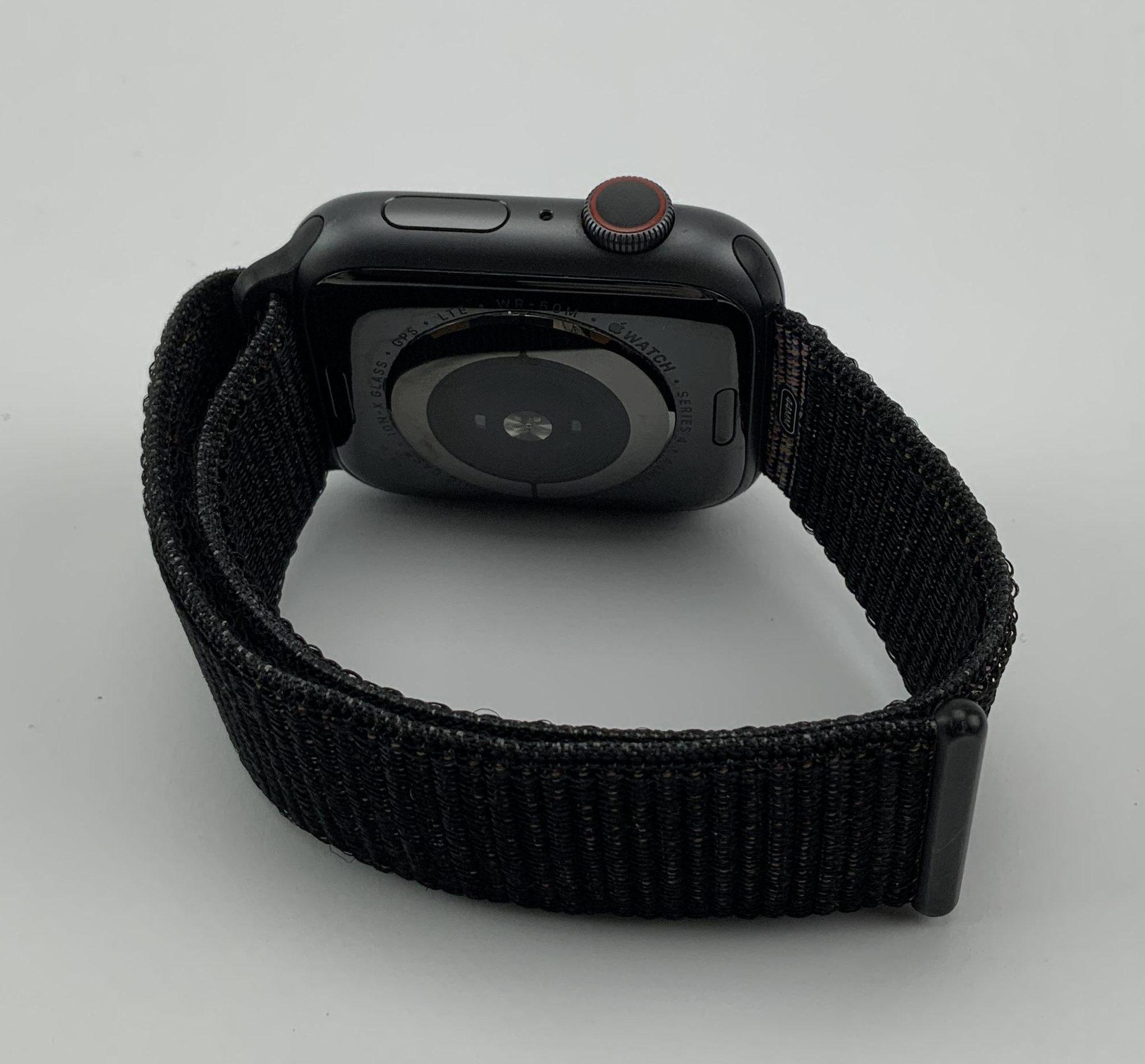Watch Series 4 Aluminum Cellular (44mm), Space Gray, Black Sport Loop, imagen 5