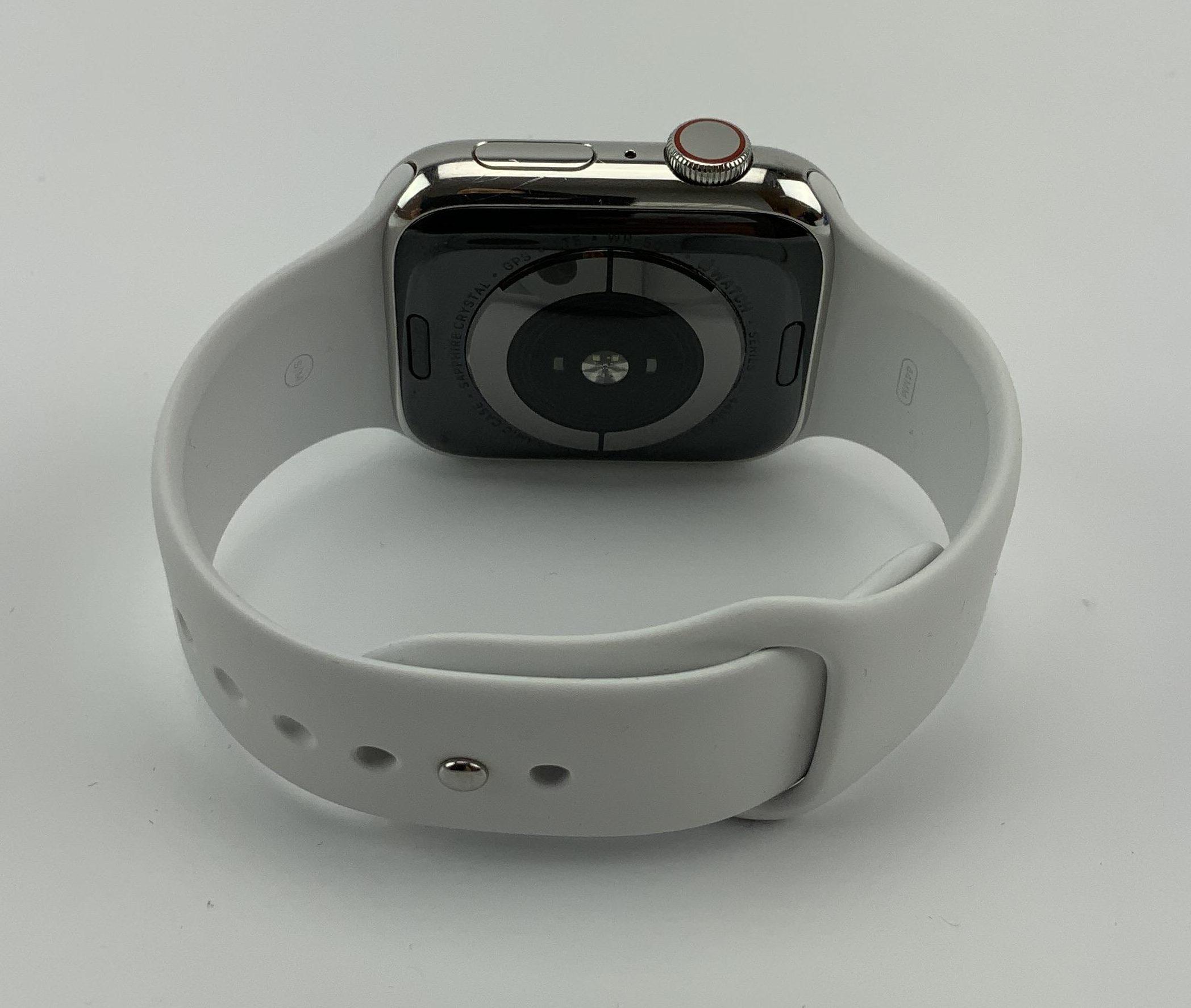 Watch Series 5 Steel Cellular (44mm), Silver, immagine 2