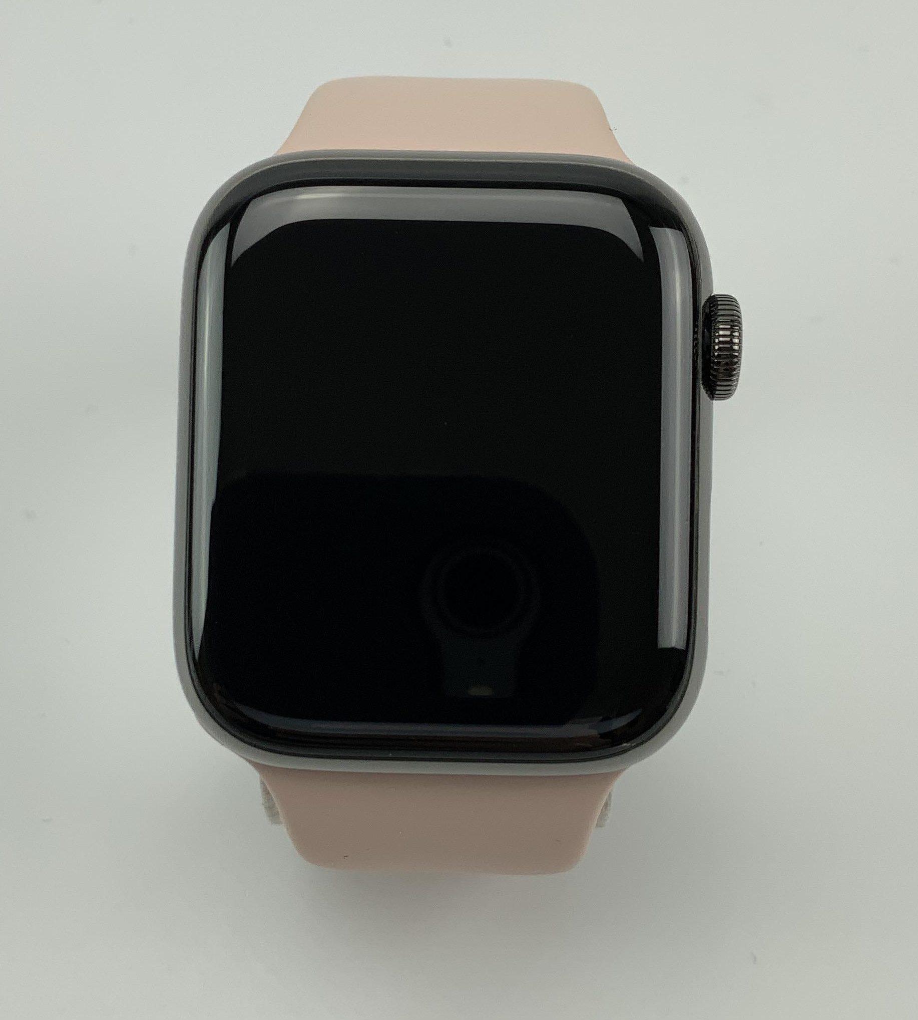 Watch Series 6 Steel Cellular (44mm), Graphite, image 1