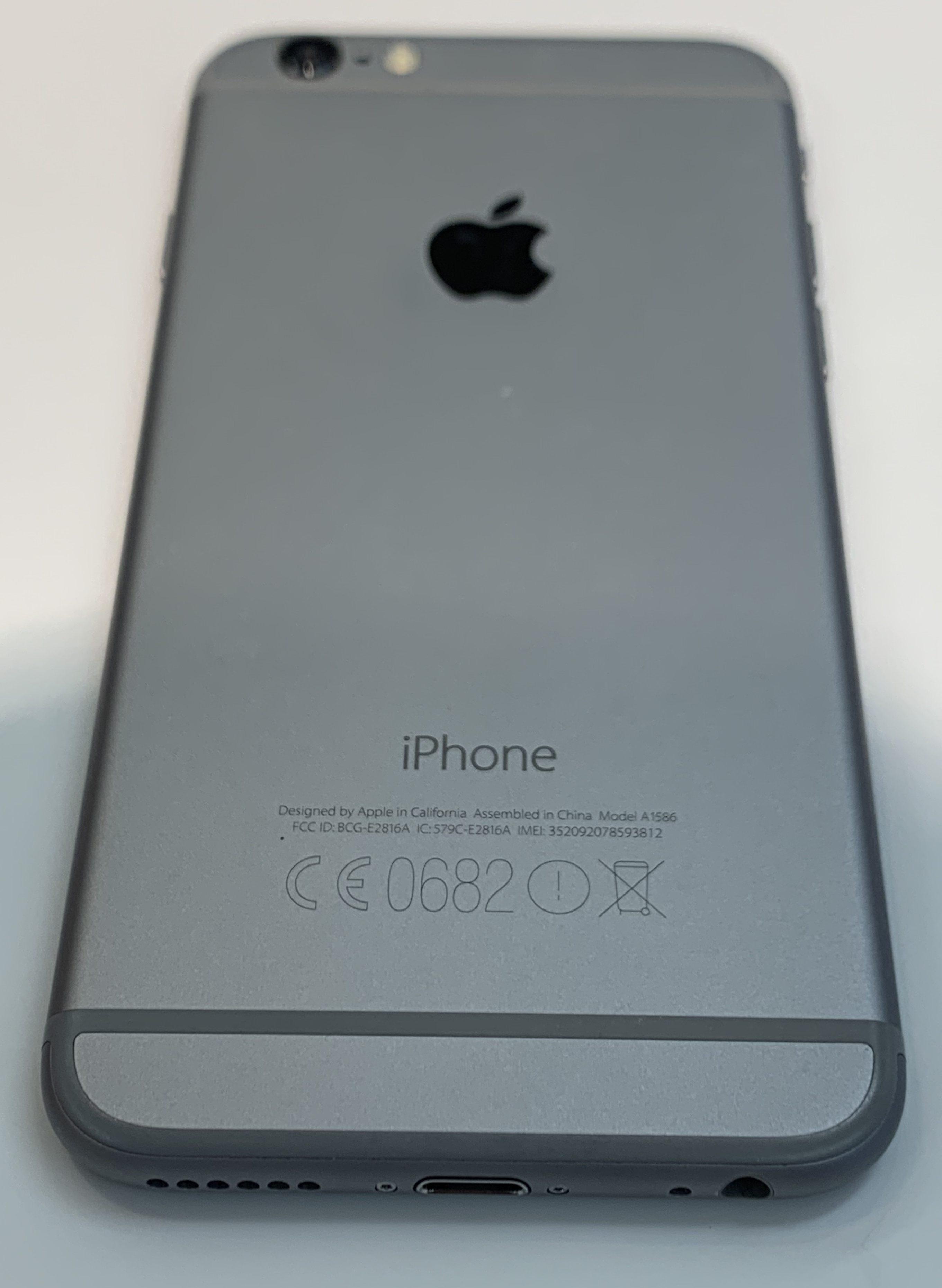 iPhone 6 16GB, 16 GB, Space Gray, bild 2