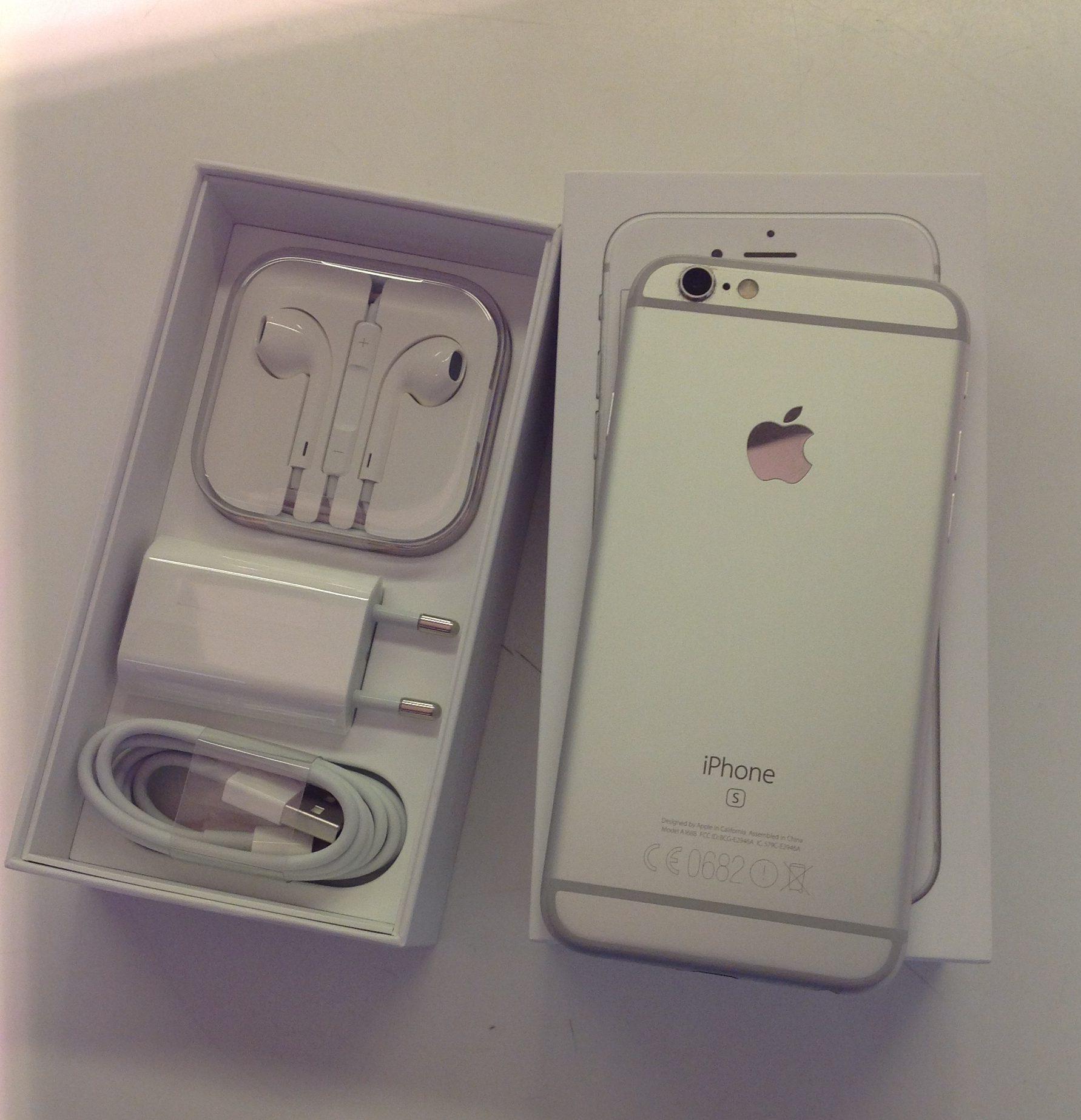 iPhone 6S 16GB, 16GB, Plata, Bild 2