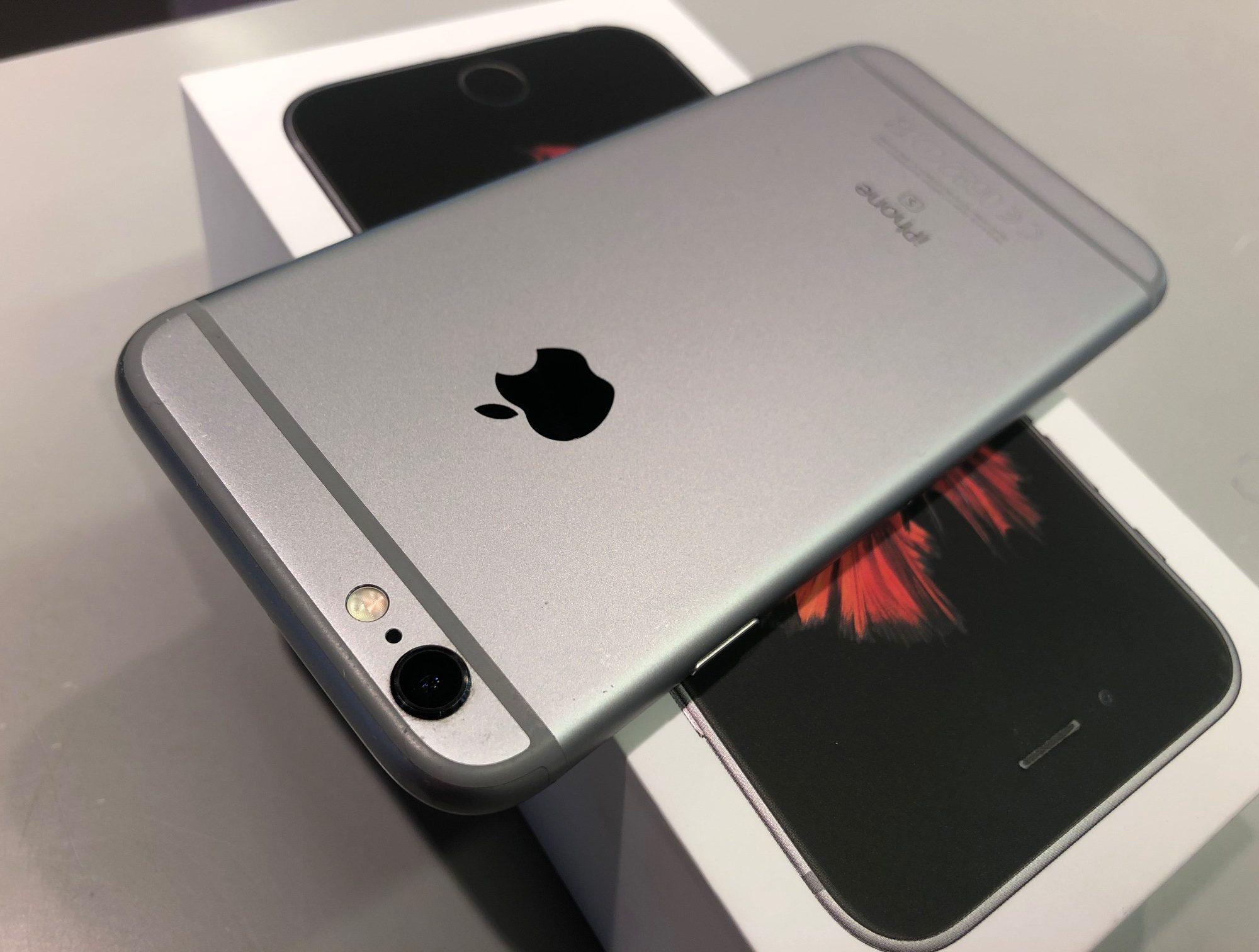 iPhone 6S 64GB, 64 GB, Space Gray, Kuva 2