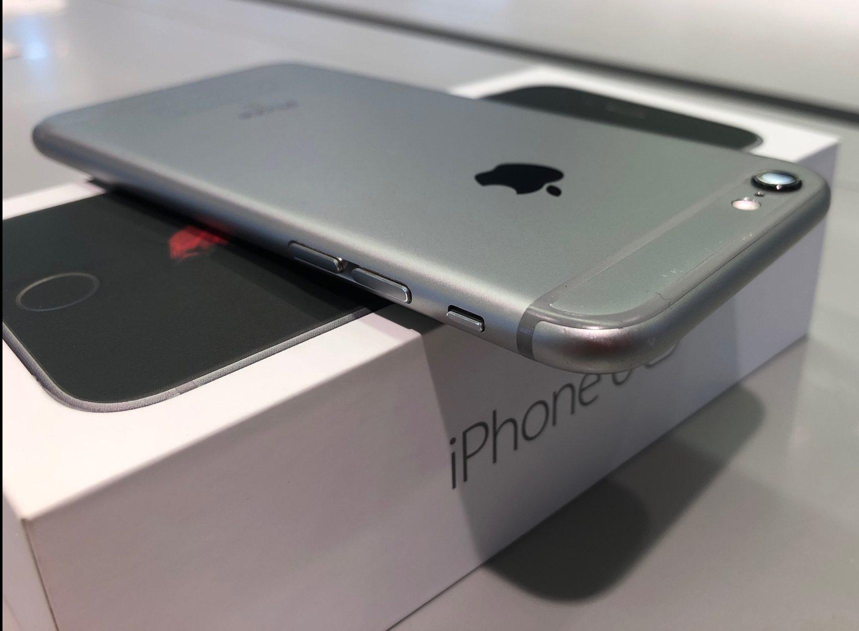 iPhone 6S 64GB, 64 GB, Space Gray, Kuva 1